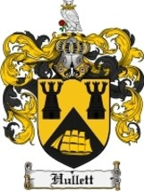 Hullett Family Crest / Coat of Arms JPG or PDF ... - $6.99