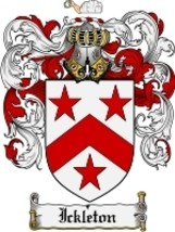Ickleton Family Crest / Coat of Arms JPG or PDF Image Download - $6.99