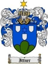 Ittner Family Crest / Coat of Arms JPG or PDF Image Download - $6.99