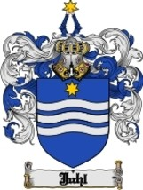 Juhl Family Crest / Coat of Arms JPG or PDF Image Download - $6.99