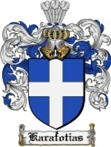 Karafotias Family Crest / Coat of Arms JPG or PDF Image Download - $6.99