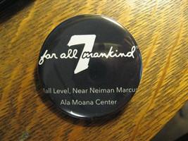 Seven 7 For All Mankind Ala Moana Hi Annuncio Pubblicitario Logo Tasca R... - $19.78