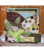 Heartfelt Creations Cut & Emboss Dies ~ Monkey Antics, HCD1 7134 RETIRED! - $22.91