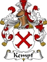 Kempf Family Crest / Coat of Arms JPG or PDF Image Download - $6.99