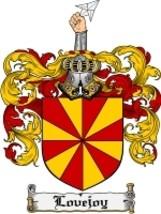 Lovejoy Family Crest / Coat of Arms JPG or PDF Image Download - $6.99