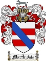 Martindale Family Crest / Coat of Arms JPG or P... - $6.99