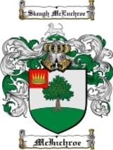 Mcinchroe Family Crest / Coat of Arms JPG or PDF Image Download - $6.99