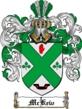 Mckew Family Crest / Coat of Arms JPG or PDF Image Download - $6.99