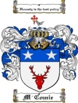 M'Comie Family Crest / Coat of Arms JPG or PDF Image Download - $6.99