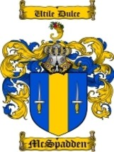 Mcspadden Family Crest / Coat of Arms JPG or PDF Image Download - $6.99