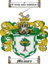 Meaney Family Crest / Coat of Arms JPG or PDF Image Download - $6.99