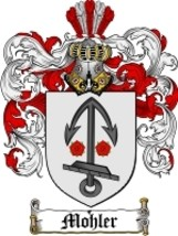 Mohler Family Crest / Coat of Arms JPG or PDF Image Download - $6.99
