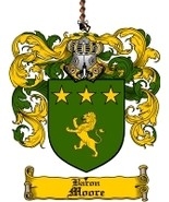 Moore Family Crest / Coat of Arms JPG or PDF Image Download - $6.99