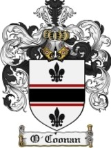 O'Coonan Family Crest / Coat of Arms JPG or PDF Image Download - $6.99