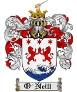 O'Neill Family Crest / Coat of Arms JPG or PDF Image Download - $6.99