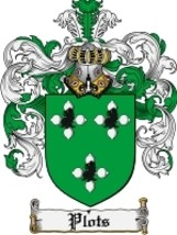 Plots Family Crest / Coat of Arms JPG or PDF Image Download - $6.99