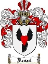 Renzel Family Crest / Coat of Arms JPG or PDF Image Download - $6.99