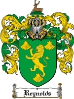 Reynolds Family Crest / Coat of Arms JPG or PDF Image Download