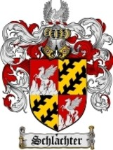 Schlachter Family Crest / Coat of Arms JPG or PDF Image Download - $6.99