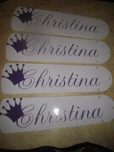Custom Personalized Ceiling Fan ~YOUR CHILD'S NAME & Choice of Color Option - $109.99