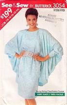 1988 DRESS & JACKET Pattern 3054-b Sizes 16-18-20-22-24 - $16.99
