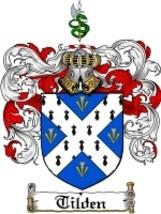 Tilden Family Crest / Coat of Arms JPG or PDF I... - $6.99