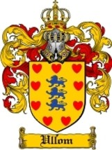 Ullom Family Crest / Coat of Arms JPG or PDF Im... - $6.99