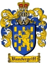 Vandergriff Family Crest / Coat of Arms JPG or PDF Image Download - $6.99