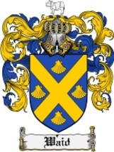 Waid Family Crest / Coat of Arms JPG or PDF Image Download - $6.99