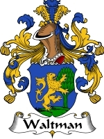 Waltman Family Crest / Coat of Arms JPG or PDF Image Download
