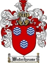 Waterhouse Family Crest / Coat of Arms JPG or PDF Image Download - $6.99