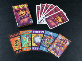 "Cheapass Games ""Brawl: Chris"" - original edition deck, no shrink, separa... - $7.00"