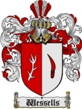 Wessells Family Crest / Coat of Arms JPG or PDF Image Download - $6.99