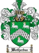 Wetherbee Family Crest / Coat of Arms JPG or PDF Image Download - $6.99