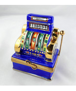 Limoges Box - Las Vegas Slot Machine - One Armed Bandit - Gambling - Pei... - $110.00