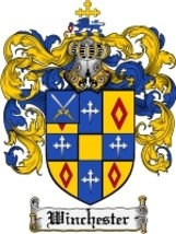 Winchester Family Crest / Coat of Arms JPG or PDF Image Download - $6.99