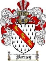 Berney Family Crest / Coat of Arms JPG or PDF Image Download - $6.99
