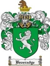 Beveradge Family Crest / Coat of Arms JPG or PDF Image Download - $6.99