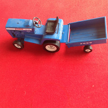 ford die cast toy replica tractor cart - $25.00