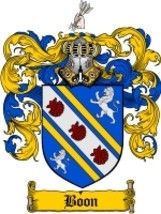 Boon Family Crest / Coat of Arms JPG or PDF Image Download - $6.99