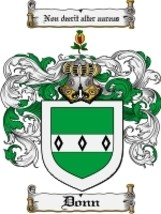 Donn Family Crest / Coat of Arms JPG or PDF Image Download - $6.99