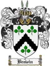 Brewin Family Crest / Coat of Arms JPG or PDF Image Download - $6.99