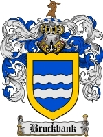Primary image for Brockbank Family Crest / Coat of Arms JPG or PDF Image Download