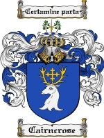 Primary image for Cairncrose Family Crest / Coat of Arms JPG or PDF Image Download