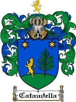 Primary image for Cataudella Family Crest / Coat of Arms JPG or PDF Image Download