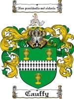 Primary image for Cauffy Family Crest / Coat of Arms JPG or PDF Image Download