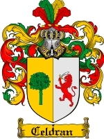 Primary image for Celdran Family Crest / Coat of Arms JPG or PDF Image Download