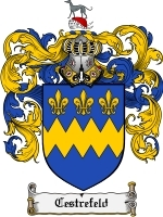 Primary image for Cestrefeld Family Crest / Coat of Arms JPG or PDF Image Download