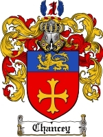 Primary image for Chancey Family Crest / Coat of Arms JPG or PDF Image Download