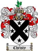Primary image for Christy Family Crest / Coat of Arms JPG or PDF Image Download